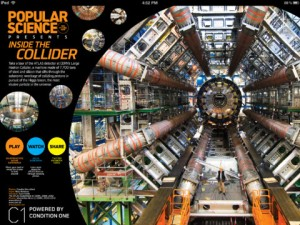 Popular Science @ ATLAS: An Immersive Video Tour