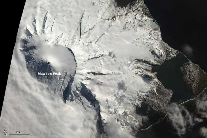 Antarctica Page OnCirculation - Satellite map of antarctica