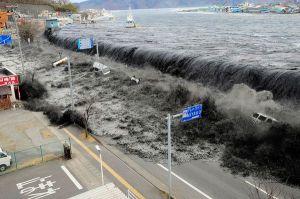 2011 tsunami in Japan. (National Geographic)