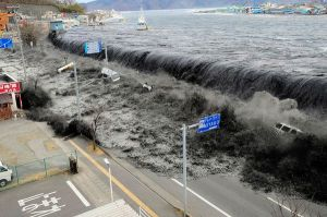 2011 tsunami in Japan. (National Geographic)