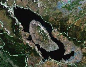 Mt. Toba caldera (Google Earth)