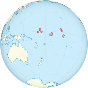 Location of Kiribati (from Wikipedia)