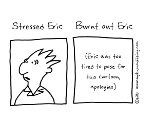 Stress vs Burnout