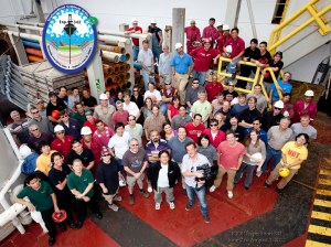 IODP Expedition 342 Group photo