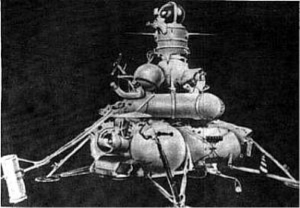 Figure 3: The Luna 16 spacecraft.