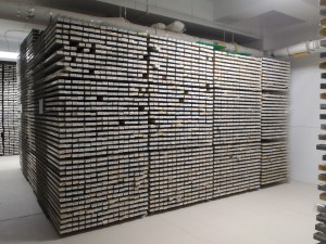 Sediment core repository at Lamont Doherty in New York.
