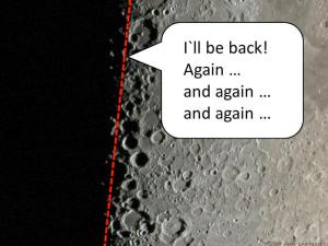 Fig. 7: The Lunar Terminator. Raw image: http://apod.nasa.gov/apod/image/0903/LUNAR_X.JPG