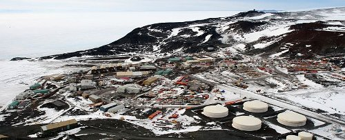 McMurdo Station - shut down