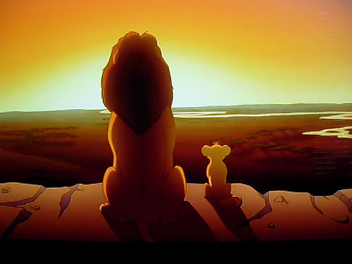 One day, Simba, the sun will set on my time here, and will rise with you as the new king