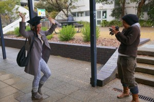 This is the 'I've just submitted my thesis' dance