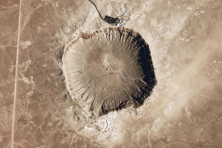 Meteor Crater, ArizonaSource