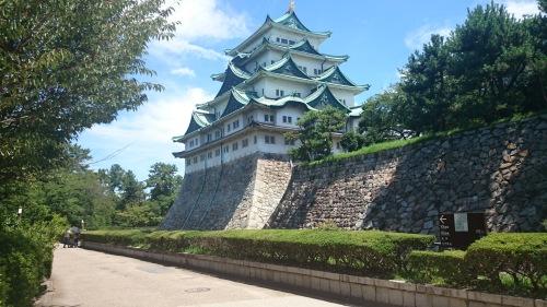 Nagoya Castle. Photo by Len Martin.
