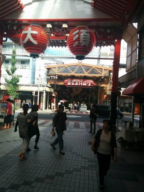 Osu Shopping District, Nagoya. Photo by Jen Wurtzel.