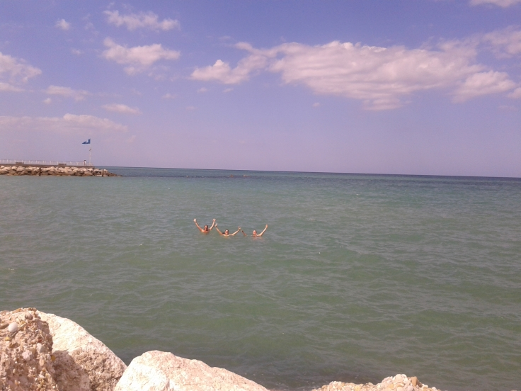 A swim in the Adriatic Sea