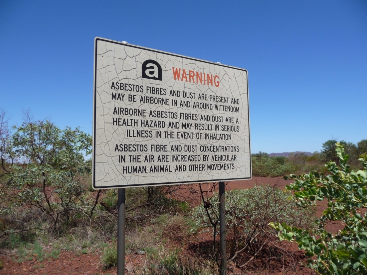 Warning in Wittenoom
